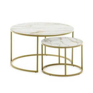Set 2 konferenčních stolů La Forma Leonor