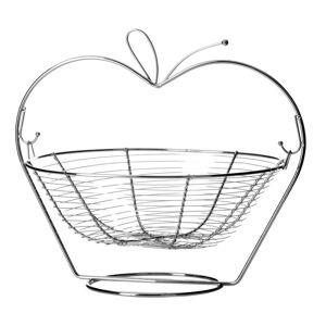 Kovový stojan s košíkem na ovoce UnimasaOrchard Apple