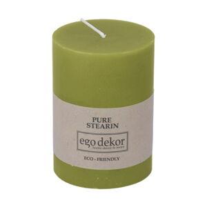 Zelená svíčka Eco candles by Ego dekor Friendly, doba hoření 37h