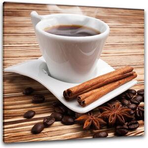 Obraz Styler Glasspik Coffee II, 30 x 30 cm