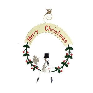 Vánoční závěsná ozdoba G-Bork Snowman