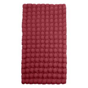 Červená relaxační masážní matrace Linda Vrňáková Bubbles, 110x200cm