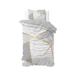 Bavlněné povlečení na jednolůžko Pure Cotton Graphic,140x200/220cm