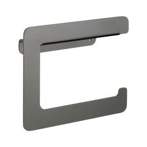 Antracitově šedý držák na toaletní papír Wenko Montella
