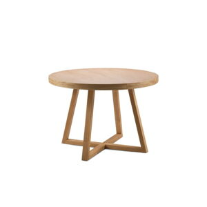 Rozkládací stůl z masivního dubového dřeva Windsor & Co Sofas Arne, ø100cm