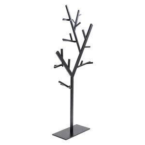 Černý kovový věšák Kare Design Tree, výška 201cm