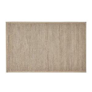 Béžová koupelnová předložka z bavlny Södahl, 50x80cm