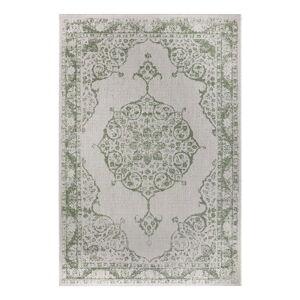 Zeleno-béžový venkovní koberec Ragami Oslo, 120 x 170 cm