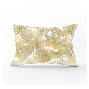 Dekorativní povlak na polštář Minimalist Cushion Covers Gold Leaf,35x55cm