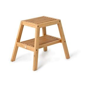 Bambusová stolička Wireworks Slatted Stool