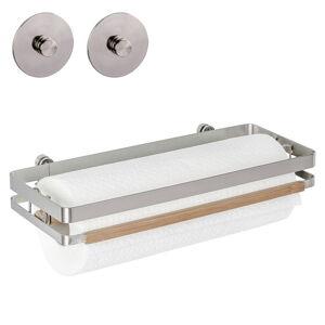 Nástěnný držák na kuchyňské utěrky Wenko Turbo-Loc®, šířka 31,5 cm