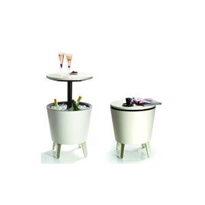 Světle hnědý zahradní barový stolek Keter Cool Little