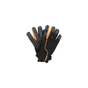 Dámské černé pracovní rukavice Fiskars, vel 8