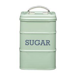 Zelená plechová dóza na cukr Kitchen Craft Nostalgia