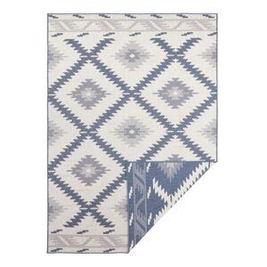 Modro-krémový venkovní koberec Bougari Malibu, 290 x 200 cm