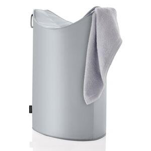 Šedý koš na prádlo Blomus Frisco, objem 65 l