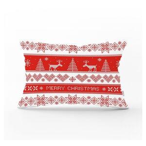 Vánoční povlak na polštář Minimalist Cushion Covers Nordic Knit,35x55cm