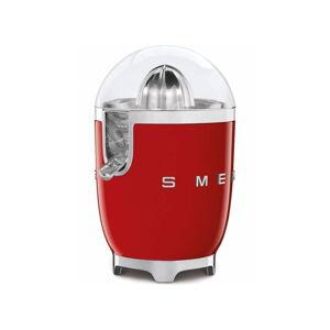 Červený citrusový odšťavňovač SMEG 50's Retro