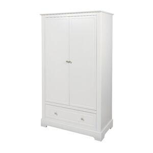 Bílá dvoudveřová skříň BELLAMY Marylou
