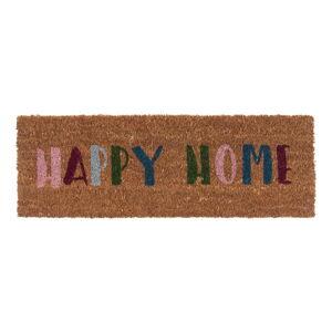 Rohožka z kokosového vlákna PT LIVING Happy Home,26x75cm