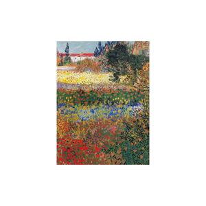Reprodukce obrazu Vincent van Gogh - Flower Garden,60x45cm