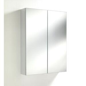 Bílá nástěnná zrcadlová skříňka Tomasucci Bony