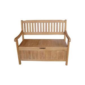 Zahradní lavice s úložným prostorem z eukalyptového dřeva ADDU Houston, délka107cm