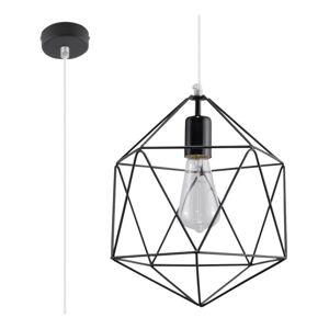 Černé závěsné svítidlo Nice Lamps Donato