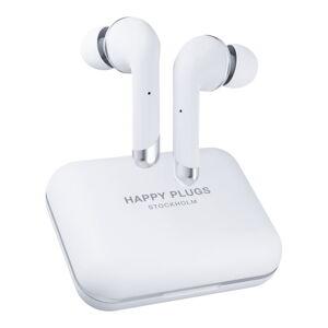 Bílá bezdrátová sluchátka Happy Plugs Air 1 Plus In-Ear