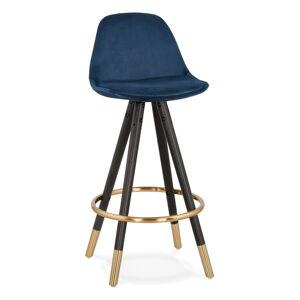 Tmavě modrá barová židle KokoonCarry Mini, výška sedáku 65cm