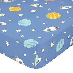 Dětské bavlněné prostěradlo Happynois Astronaut, 120x60cm