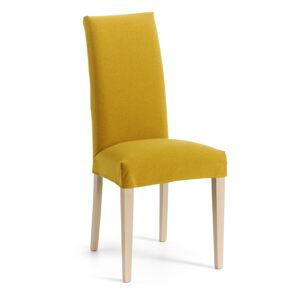 Hořčicově žlutá jídelní židle La Forma Freia