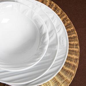 18dílná sada porcelánového nádobí Güral Porselen Leaves