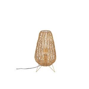 Béžová stolní lampa Dutchbone Filo,výška50cm