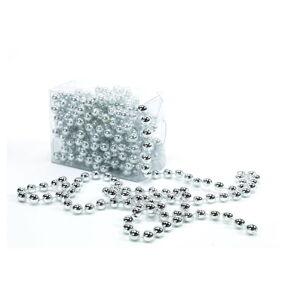 Dekorativní řetěz ve stříbrné barvě Unimasa Balls, délka5m