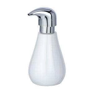 Bílý keramický dávkovač mýdla Wenko Shiny, 320 ml