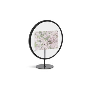Černý volně stojící rám na fotografii o rozměru 10 x 15 cm Umbra Infinity