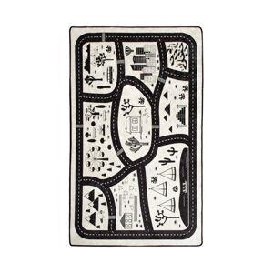 Dětský koberec Black City, 100x160cm