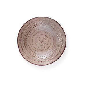 Pískově hnědý kameninový talíř Brandani Serendipity, ⌀20cm