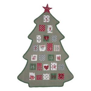 Bavlněný adventní kalendář Green Gate Charline Tree