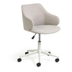 Světle šedá kancelářské židle La Forma Einara