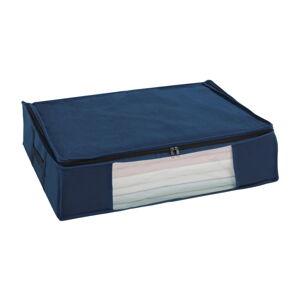 Modrý vakuový úložný box Wenko Air, 50 x 65 x 15 cm