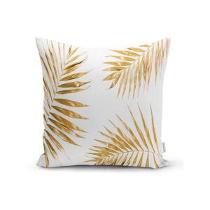 Povlak na polštář Minimalist Cushion Covers Gold Leaves,42x42cm