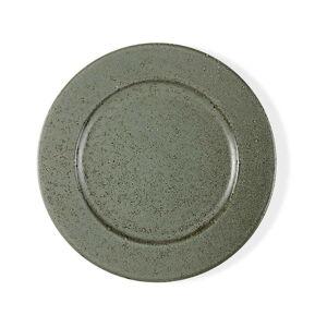 Zelený kameninový mělký talíř Bitz Basics Green, ⌀ 27 cm