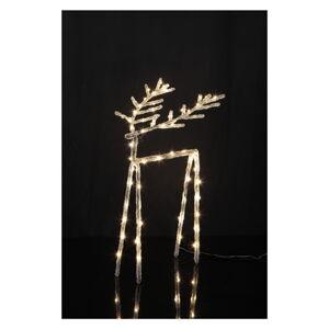 Svítící LED dekorace Star Trading Icy Deer, 40 cm