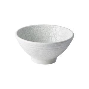 Bílá keramická miska MIJ Star, ø16 cm