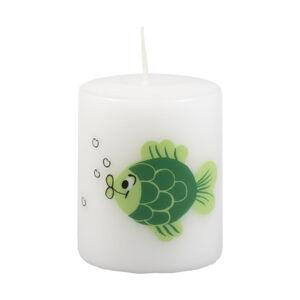Bílá svíčka Unipar Xmas Carp, doba hoření 15 h