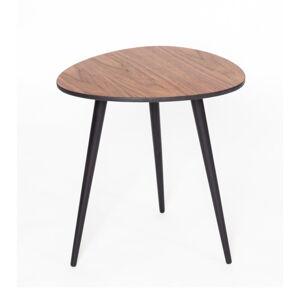 Odkládací stolek s černými nohami Ragaba Pawi Pick, 42 x 39 cm