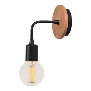 Černé nástěnné svítidlo Homemania Decor Simple Drop