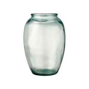 Zelená skleněná váza Bitz Kusintha,ø17,5cm